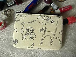 Taštičky - Taštička na mobil - kočičí hrátky - 9854800_