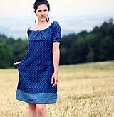 Šaty - Modré - 9857246_