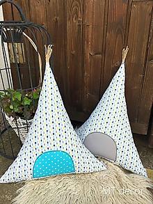 Textil - TEEPEE / vankúšik, dekorácia, stan - 9854469_