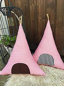 Textil - TEEPEE / vankúšik, dekorácia - 9854503_