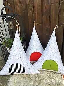 Textil - TEEPEE / vankúšik, dekorácia, stan - 9854538_