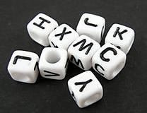 - Písmenko kocka - celá abeceda  (Písmenko