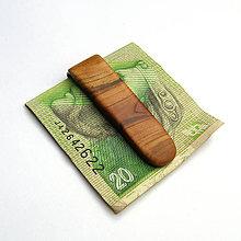 Tašky - Marhuľová spona na peniaze - 9856645_