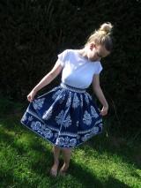 Šaty - Dámske folklorne šaty - 9854671_