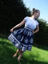 Šaty - Dámske folklorne šaty - 9854672_