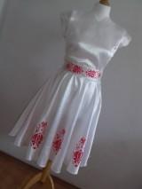 Šaty - Saténové maľované šaty - 9854679_