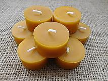Svietidlá a sviečky - Čajová sviečka ZERO WASTE - 9858814_