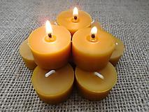 Svietidlá a sviečky - Čajová sviečka ZERO WASTE - 9858815_