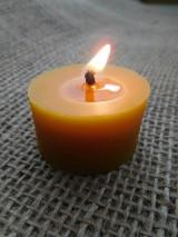 Svietidlá a sviečky - Čajová sviečka ZERO WASTE - 9858816_