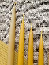 Svietidlá a sviečky - Vysoká sviečka do svietnika - 9860383_