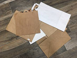 Obalový materiál - Taška papierová 10ks 32x17x25 - 9857869_