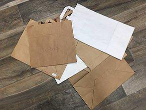 Obalový materiál - Taška papierová 10ks 26x12x35 - 9857871_
