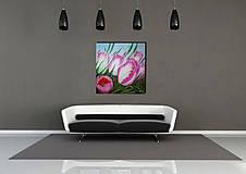 Obrazy - Kytica tulipánov - 9858840_