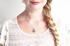 Sady šperkov - Strieborná súprava so serafinitom - Serafinitová jemnosť - 9859793_