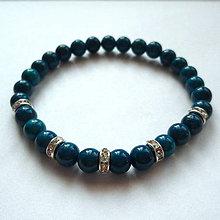 Náramky - Náramok-MARBLE (modrá) - 9859956_