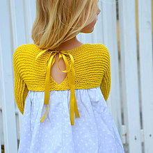 Detské oblečenie - šaty MY LADY jantárové - 9857766_