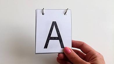 Hračky - Hmatová abeceda/tlačená - 9859656_