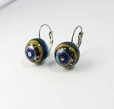 Náušnice - Tana šperky - keramika/platina - 9860175_