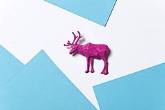 Brošne - Sob ružový - 9857611_