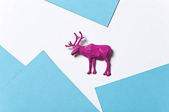 Odznaky/Brošne - Sob ružový - 9857611_