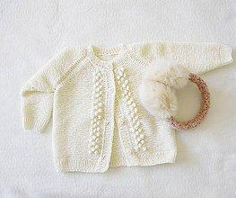 Detské oblečenie - Nežný svetrík - 9858712_