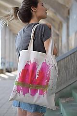 Veľké tašky - Bavlnená taška THREE PARROTS IMAGE - 9859181_