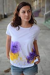 Tričká - Dámske tričko PURPLE DREAM - 9859259_