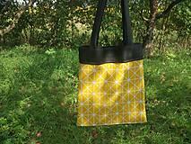 Nákupné tašky - Plátená taška SUN - 9859556_