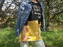 Nákupné tašky - Plátená taška SUN - 9859557_