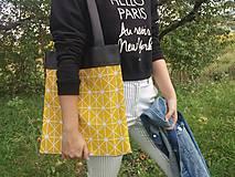 Nákupné tašky - Plátená taška SUN - 9859558_
