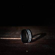 Prstene - Drevený prsteň - čičmanský vzor - 9859630_