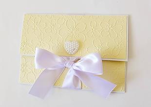 Papiernictvo - svadobná darčeková obálka na peniaze - 9860727_