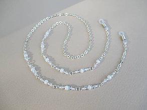 Iné šperky - Retiazka na okuliare z bižutérneho kovu - 9863693_