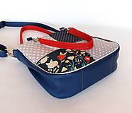 Veľké tašky - Sandy girl - S bodkami a s kvetmi - 9861878_