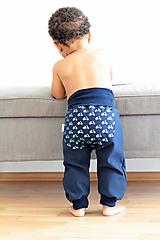 "Detské oblečenie - Softshellky ""retro motorky"" - 9861606_"