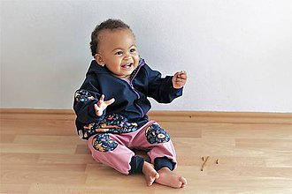 """Detské oblečenie - Softshellka """"líštička na lúke sníva"""" - 9861452_"""