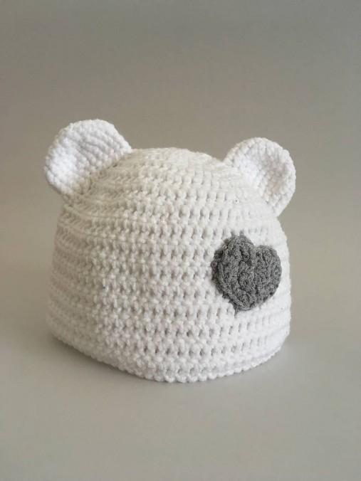 235708069 Háčkovaná čiapka / Betinqa - SAShE.sk - Handmade Detské čiapky