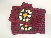 Rukavice - bezprstové rukavičky JESEŇ - 9863237_