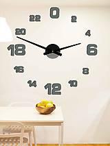 Hodiny - Nástenné hodiny popletené čisla - 9863008_