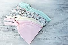 Detské čiapky - Baby čiapka pastel - 9863760_