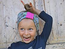 Detské čiapky - ČELENKA - uchokrytka - 9861272_