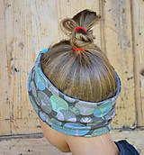 Detské čiapky - ČELENKA - uchokrytka (dámska) - 9861303_