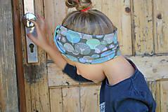 Detské čiapky - ČELENKA - uchokrytka (dámska) - 9861304_