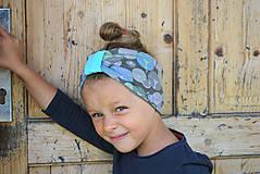 Detské čiapky - ČELENKA - uchokrytka (dámska) - 9861312_
