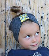 Detské čiapky - ČELENKA - uchokrytka - 9861330_