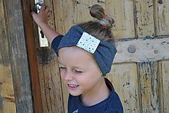 Detské čiapky - ČELENKA - uchokrytka - 9861360_