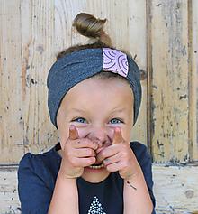 Detské čiapky - ČELENKA - uchokrytka - 9861397_