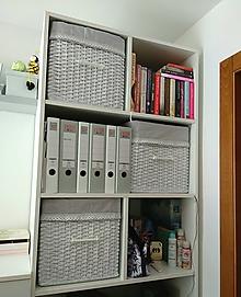 Košíky - Šatníkové boxy LUCIA II. / ks - 9861344_