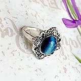 Prstene - Delicate Gemstone Ring SET (3 Rings) / Jemné vintage prstene polodrahokamami (set 3ks) /0059 - 9865215_
