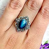 Prstene - Delicate Gemstone Ring SET (3 Rings) / Jemné vintage prstene polodrahokamami (set 3ks) /0059 - 9865216_